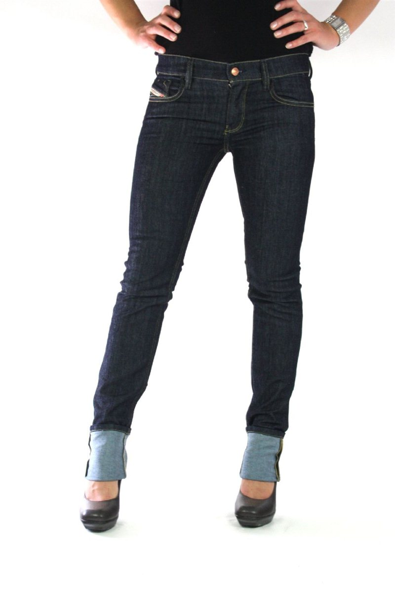 diesel livy women 39 s jeans denim getlegg livier matic new 29 34 ebay. Black Bedroom Furniture Sets. Home Design Ideas