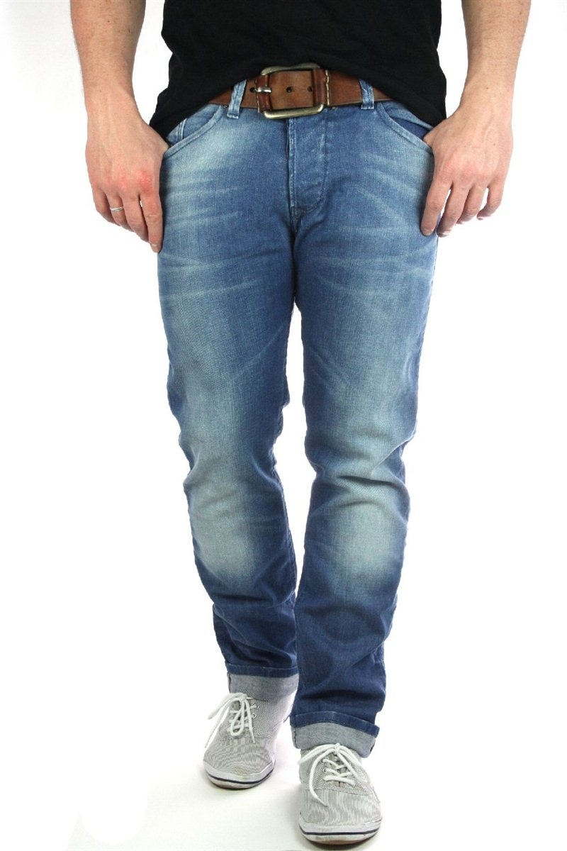 diesel darron herren jeans zathan viker neu 31 34 neu 189 men denim ebay. Black Bedroom Furniture Sets. Home Design Ideas