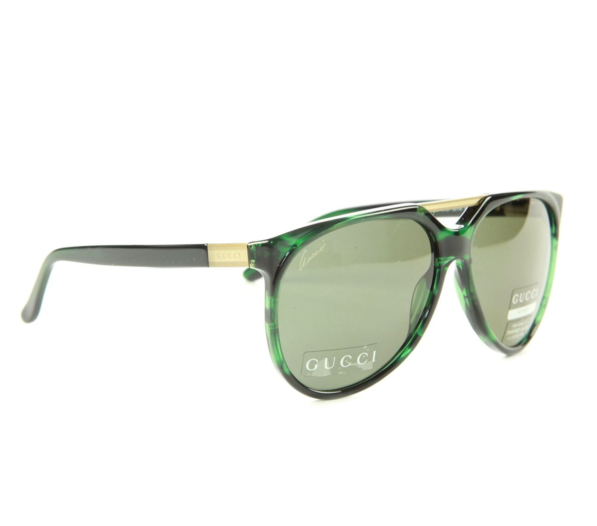 gucci damen herren sonnenbrille havanna green 3501 b s 9p5 luxus premium etui ebay. Black Bedroom Furniture Sets. Home Design Ideas