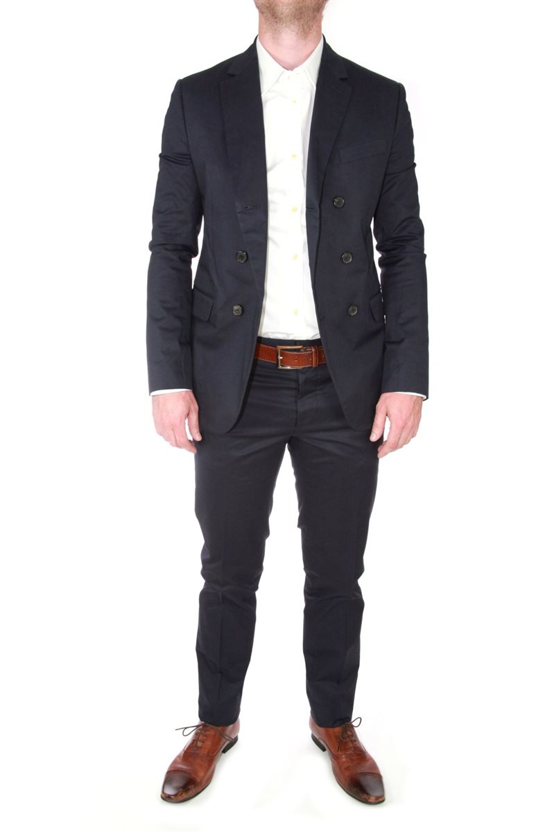 dsquared original herren anzug tokyo cut slim fit blau gr 54 suit jackett hose ebay. Black Bedroom Furniture Sets. Home Design Ideas