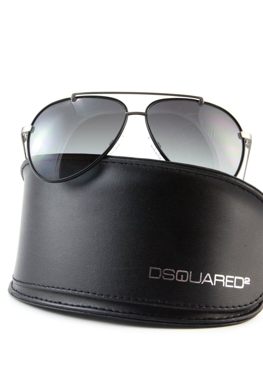 dsquared aviator sonnenbrille damen herren pilotenbrille etui original np 255 ebay. Black Bedroom Furniture Sets. Home Design Ideas