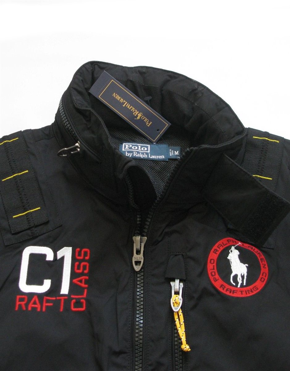 ralph lauren men 39 s sports jacket big pony c1 raft class sailing windbreaker ebay. Black Bedroom Furniture Sets. Home Design Ideas