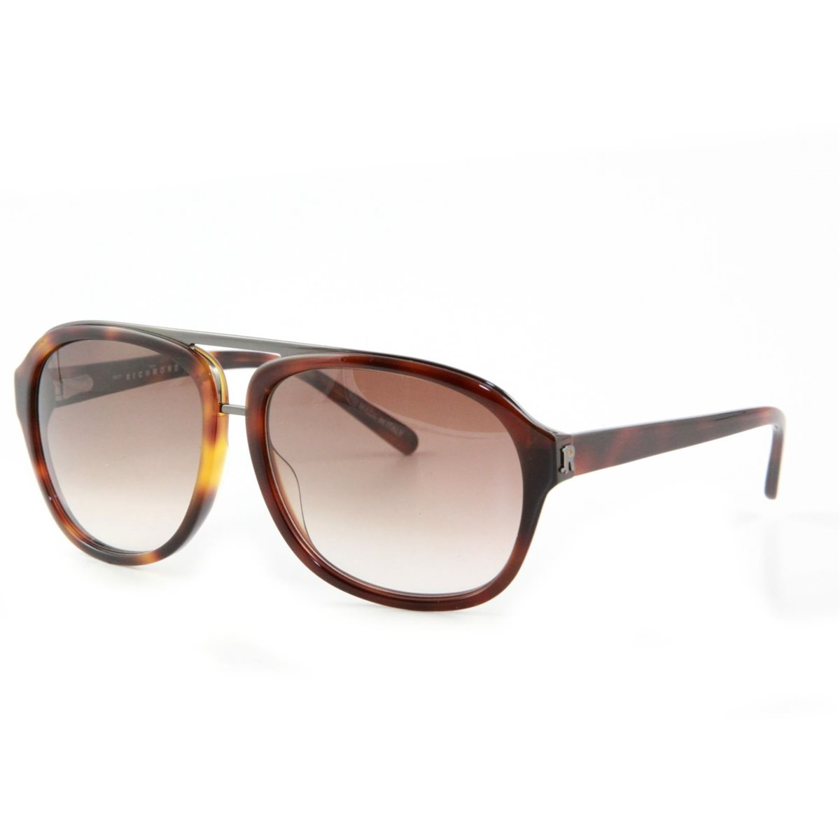 John Richmond Unisex Sunglasses Brown Visor Patt retro ...