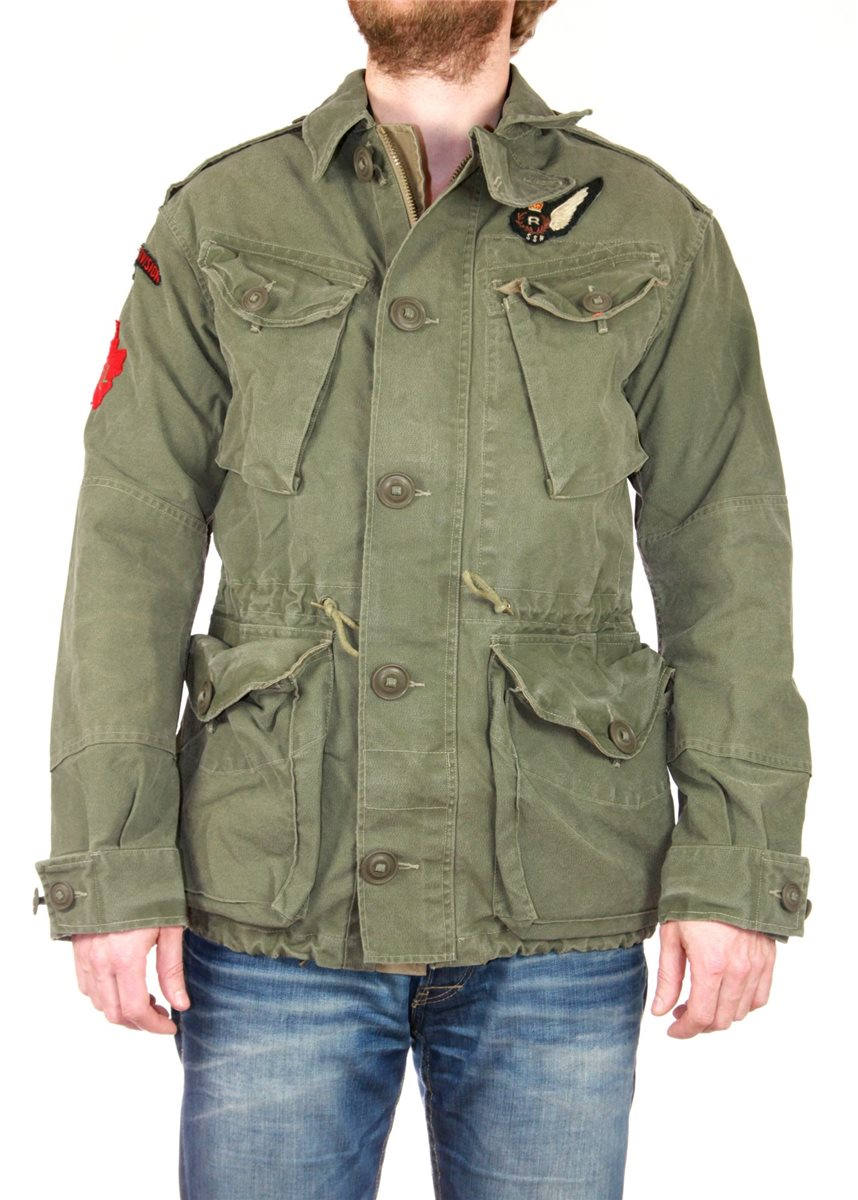 ralph lauren genuine military jacket. Black Bedroom Furniture Sets. Home Design Ideas