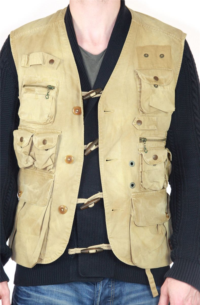 polo by ralph lauren men 39 s vest fishing hunting army military gilet. Black Bedroom Furniture Sets. Home Design Ideas